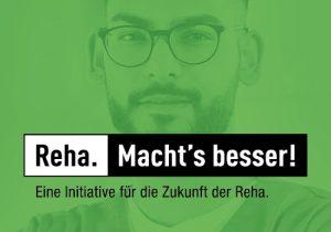 Logo Eine Initiative für die Zukunft der Reha